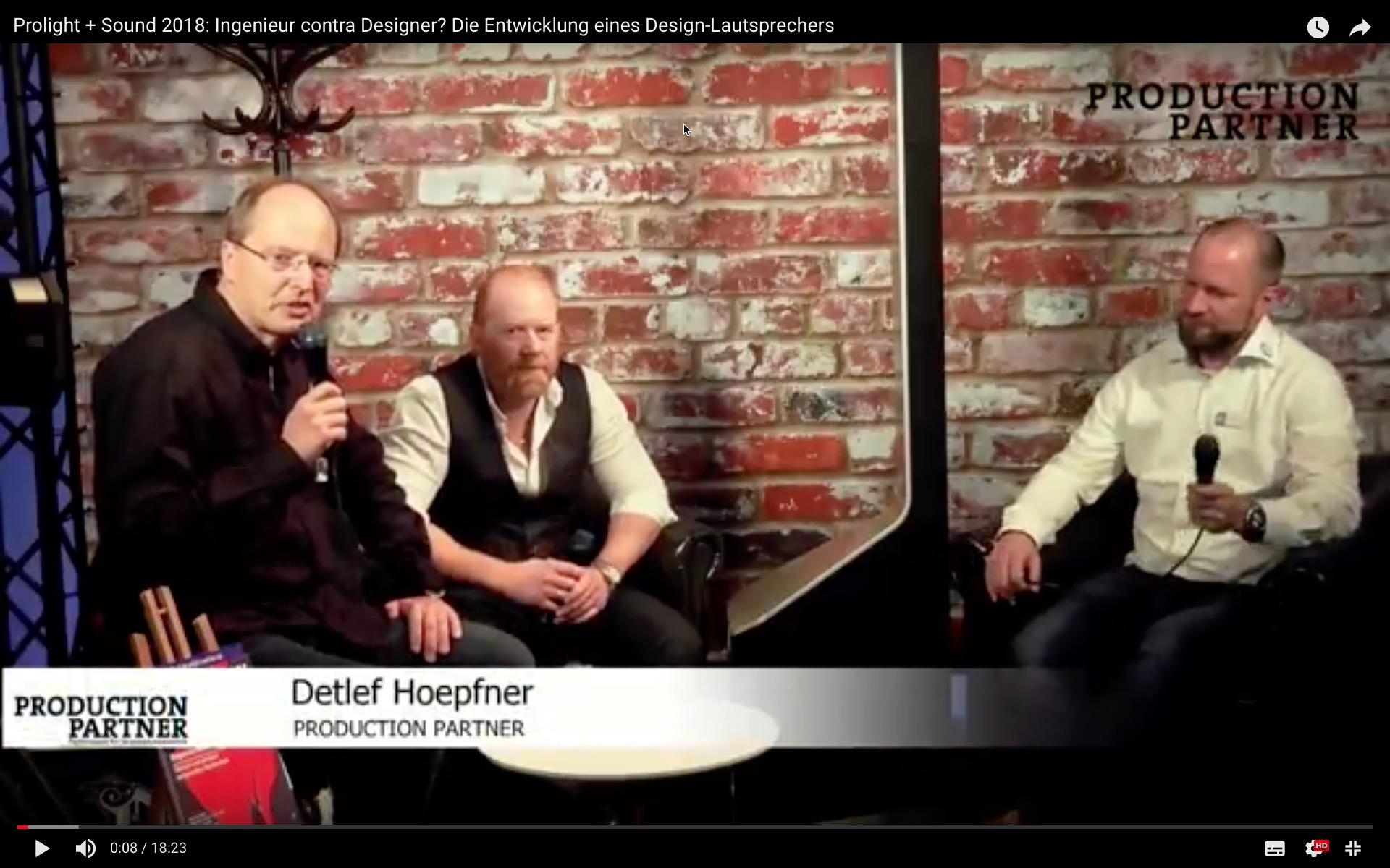Interview mit Ben und Kai zum Lautsprecher-Design