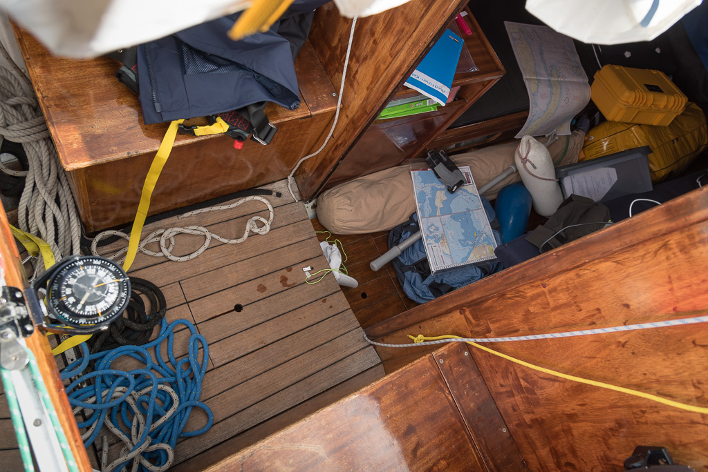 Chaos im Boot
