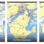 Seekarten-App der Ostsee: Vergleich Raster vs. Vektor